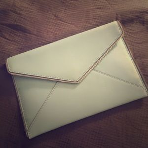 REBECCA MINKOFF ENVELOPE CLUTCH LIKE NEW!